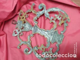 Antigüedades: Espectacular fornitura modernista de bronce finales de siglo XIX. Caja 3 - Foto 16 - 207336277