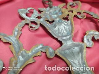 Antigüedades: Espectacular fornitura modernista de bronce finales de siglo XIX. Caja 3 - Foto 17 - 207336277