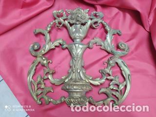 ESPECTACULAR FORNITURA MODERNISTA DE BRONCE FINALES DE SIGLO XIX. CAJA 3 (Antigüedades - Varios)