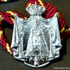 Antigüedades: MEDALLA DE HERMANDAD NUESTRA SEÑORA DEL AMPARO BOADILLA DE RIOSECO PALENCIA. Lote 207408413