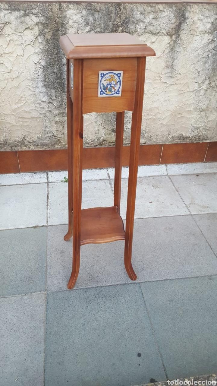 Antigüedades: Macetero de madera - Foto 2 - 207454205