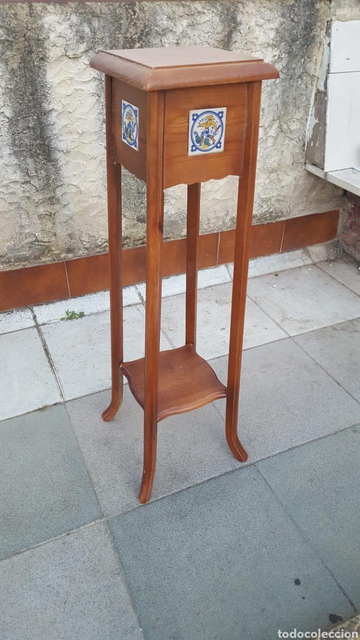 Antigüedades: Macetero de madera - Foto 3 - 207454205