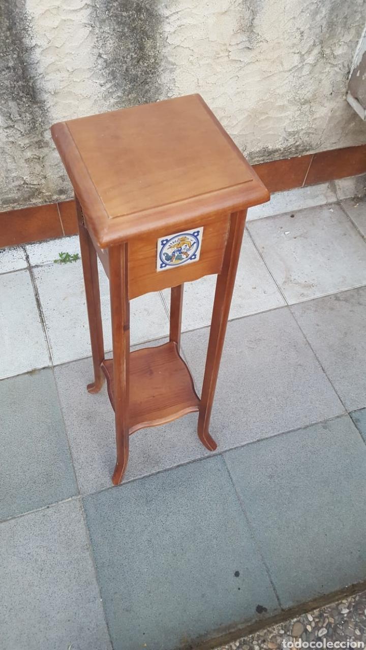 Antigüedades: Macetero de madera - Foto 4 - 207454205
