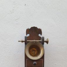 Antigüedades: ALMIRECERO DE MADERA. Lote 207456168