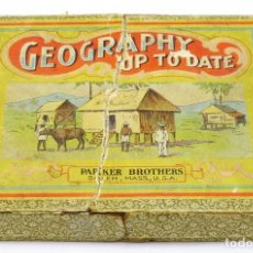 Antigüedades: 1900CA - GEOGRAPHY UP TO DATE (JUEGO DE MESA) DE PARKER BROTHERS DE SALEM (CREADORES DEL MONOPOLY). Lote 207465521