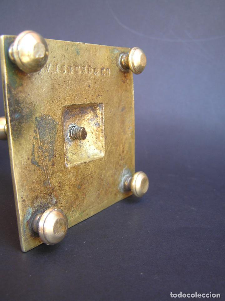 Antigüedades: Precioso candelero TOWNSHEND & CO . Circa 1900. .15 cm. - Foto 10 - 207489346