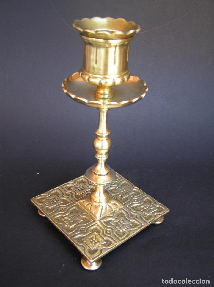 Antigüedades: Precioso candelero TOWNSHEND & CO . Circa 1900. .15 cm. - Foto 17 - 207489346
