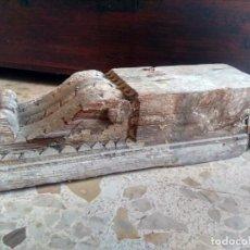 Antigüedades: GRAN ZAPATA / MÉNSULA / CAN - DE ANTIGUO ARTESONADO - TALLA DEL SIGLO XVII, CON REMINISCENCIAS. Lote 207493181