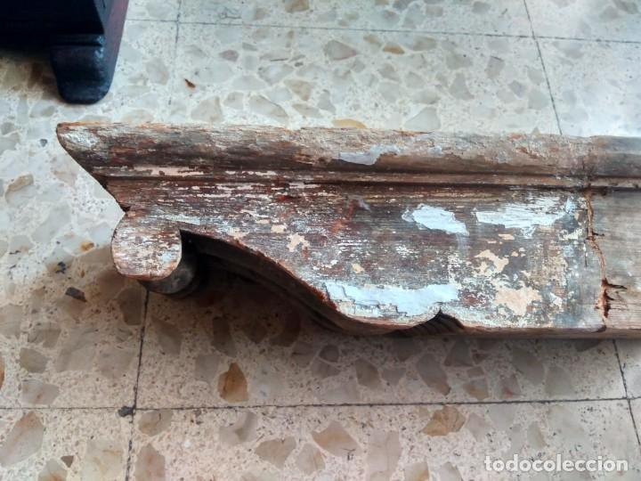 Antigüedades: GRAN ZAPATA / MÉNSULA / CAN - DE ANTIGUO ARTESONADO - TALLA DEL SIGLO XVII, CON REMINISCENCIAS - Foto 8 - 207493181
