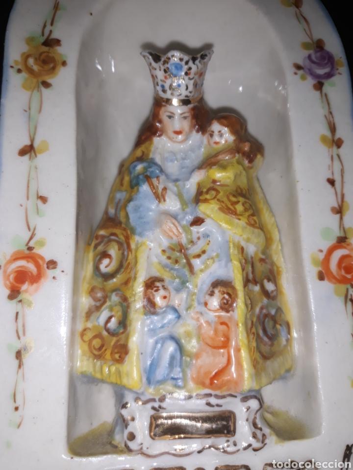 Antigüedades: Porcelana Peyro Virgen de los desamparados. - Foto 11 - 207500325