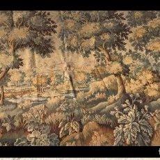 Antigüedades: MUY GRANDE TAPIZ DE TELAR MECANICO FINALES SIGLO XIX 330 CM X 173 CM. Lote 207516672