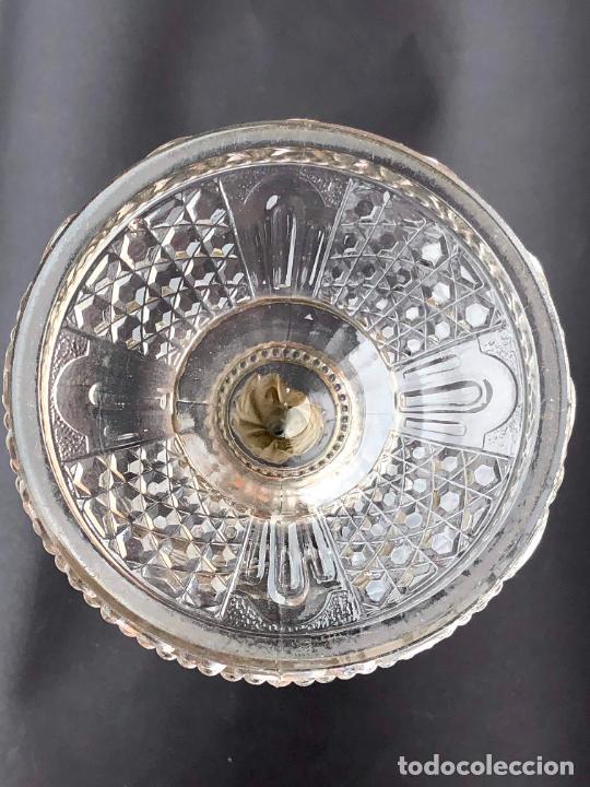 Antigüedades: CANDELERO de cristal. Finales siglo XIX. 23,2 cm - Foto 9 - 207539145
