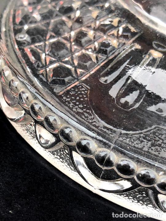 Antigüedades: CANDELERO de cristal. Finales siglo XIX. 23,2 cm - Foto 11 - 207539145
