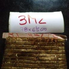 Antigüedades: ANTIGUO GALON ORO METAL HOJILLA 78X6,5 CM VESTIMENTA SEMANA SANTA VIRGEN SAYA NIÑO JESUS COFRADE. Lote 207542390