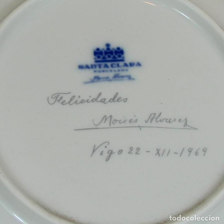 Antigüedades: platos de Santa Clara, edición especial de Navidad. Firmados en el dorso. - Foto 2 - 207563525