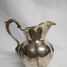 Antigüedades: JARRA FABRICADA EN ALPACA.. Lote 207571027