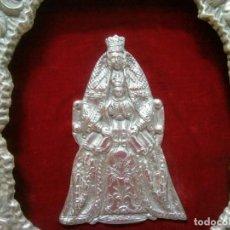 Antigüedades: PRECIOSO RELICARIO CAPILLA VIRGEN DE LOS REYES . PRINCIPIOS SIGLO XX. 27 CM POR 30 CM.. Lote 207572138
