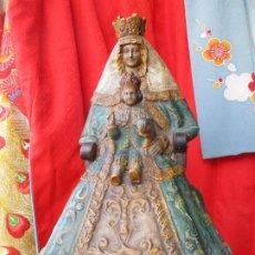 Antigüedades: VIRGEN DE LOS REYES CERAMICA DE TRIANA. Lote 207576953