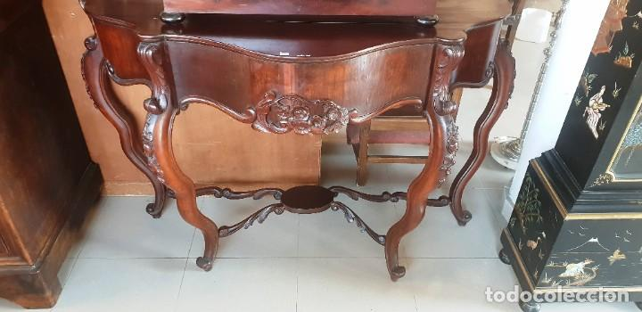 Antigüedades: Consola de Caoba del siglo XIX - Foto 4 - 202400657