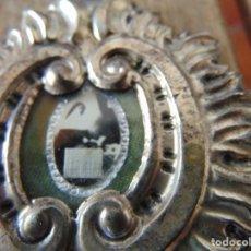 Antigüedades: PEQUEÑO RELICARIO CON RELIQUIA DE SOR ANGELA DE LA CRUZ. Lote 207599962