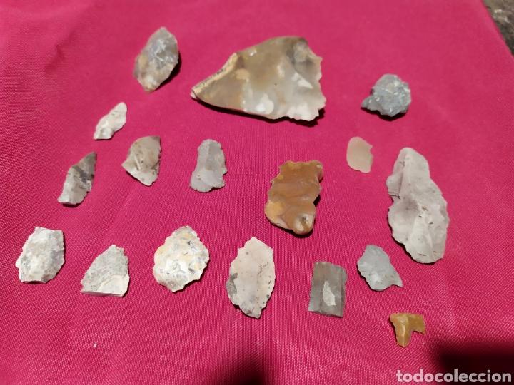 PUNTAS FLECHA SILEX (Antigüedades - Varios)
