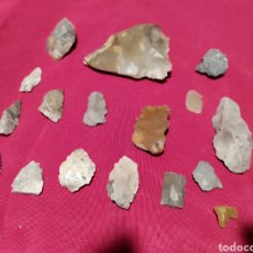 Antiguidades: PUNTAS FLECHA SILEX. Lote 207658302