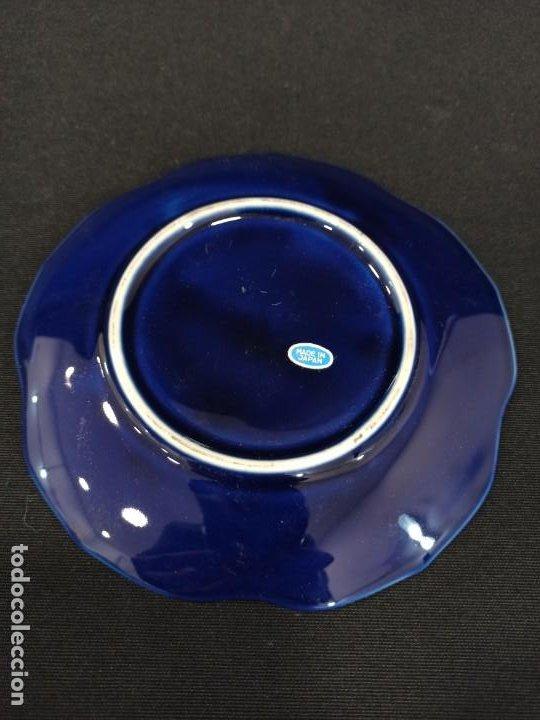 Antigüedades: Plato de cerámica con pavos. Japón. C9 - Foto 3 - 207675948