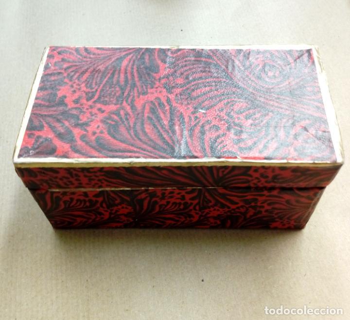 Antigüedades: perfumero cristal de bohemia con tonos verdosos filos oro 24 k - Foto 7 - 207709100