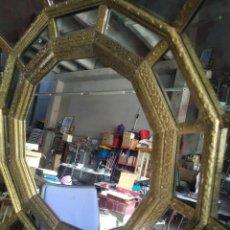 Antigüedades: GRAN ESPEJO ESTILO OCTOGONAL. Lote 207717945