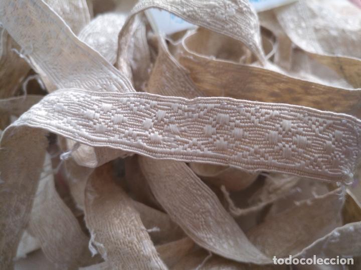 Antigüedades: 213+50+53+150+160+61 cm antiguo galon seda ideal virgen semana santa casulla dalmatica .... - Foto 3 - 207719173