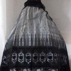 Antigüedades: ANTIGUO ENCAJE MUY ANCHO PARA FALDA - VESTIDO S. XIX. Lote 207755223