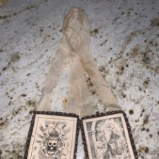 Antigüedades: ESCAPULARIO PARA VIRGEN DEL CARMEN. Lote 207760365