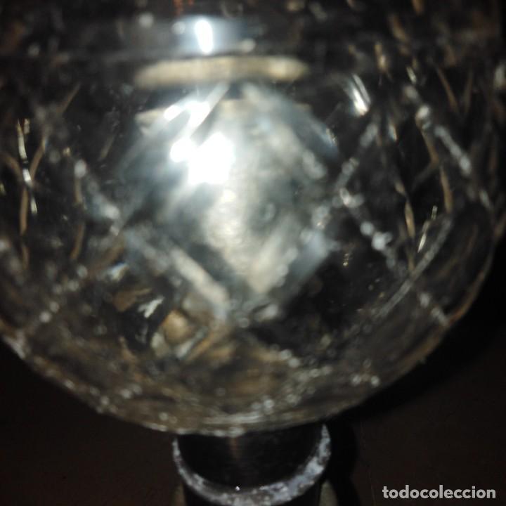 Antigüedades: Antiguo Candelero eclesiastico, siglo xix - Foto 6 - 207773295