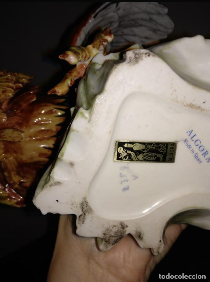 Antigüedades: Pareja gallos de Algora - Foto 3 - 207774343