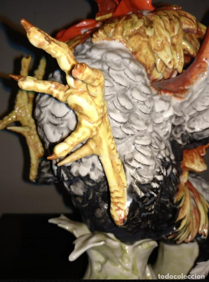 Antigüedades: Pareja gallos de Algora - Foto 5 - 207774343