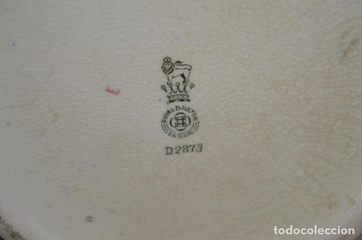 Antigüedades: Vintage, antiguo - ROYAL DOULTON D2873 England - Muy raro/difícil ¡Mira fotos y detalles! / Lote 01 - Foto 9 - 207811652