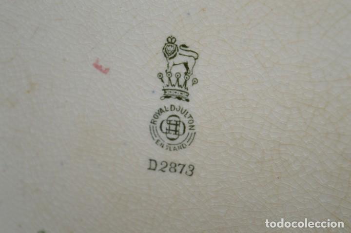 Antigüedades: Vintage, antiguo - ROYAL DOULTON D2873 England - Muy raro/difícil ¡Mira fotos y detalles! / Lote 01 - Foto 10 - 207811652
