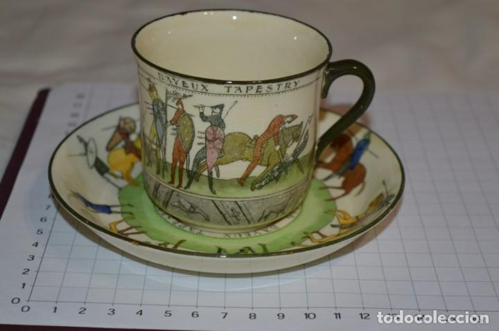Antigüedades: Vintage, antiguo - ROYAL DOULTON D2873 England - Muy raro/difícil ¡Mira fotos y detalles! / Lote 05 - Foto 2 - 207817738