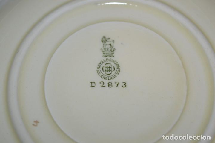 Antigüedades: Vintage, antiguo - ROYAL DOULTON D2873 England - Muy raro/difícil ¡Mira fotos y detalles! / Lote 05 - Foto 6 - 207817738