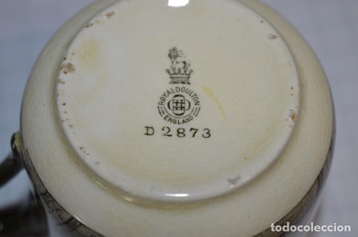 Antigüedades: Vintage, antiguo - ROYAL DOULTON D2873 England - Muy raro/difícil ¡Mira fotos y detalles! / Lote 05 - Foto 15 - 207817738