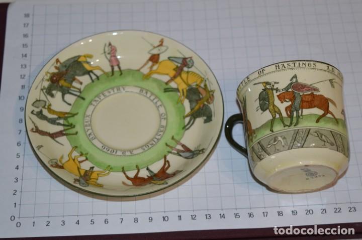 VINTAGE, ANTIGUO - ROYAL DOULTON D2873 ENGLAND - MUY RARO/DIFÍCIL ¡MIRA FOTOS Y DETALLES! / LOTE 06 (Antigüedades - Porcelanas y Cerámicas - Inglesa, Bristol y Otros)