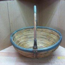 Antigüedades: CENTRO DE MESA CON ASA. Lote 207832983