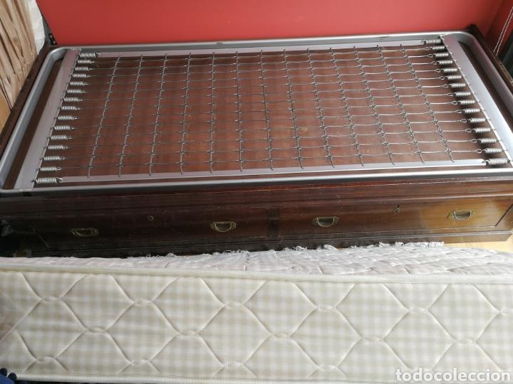 Antigüedades: cama autentica de barco caoba - Foto 7 - 79778398