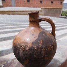 Oggetti Antichi: ANTIGUA VINAJERA CERÁMICA DE ALCORISA, TERUEL. Lote 207839365
