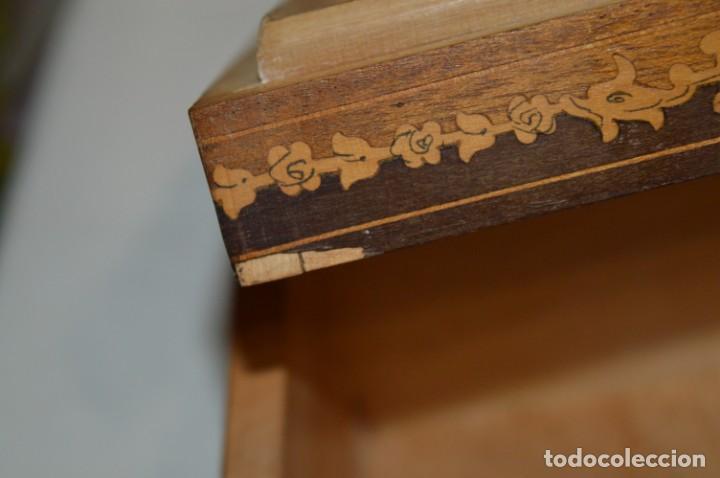 Antigüedades: Vintage, antigua - CAJA / CIGARRERA musical / Madera y marquetería - ¡Preciosa, mira fotos/detalles! - Foto 17 - 207855917