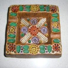 Antigüedades: CENICERO DE CERÁMICA DE CONVENTO ARACENA. Lote 207859961