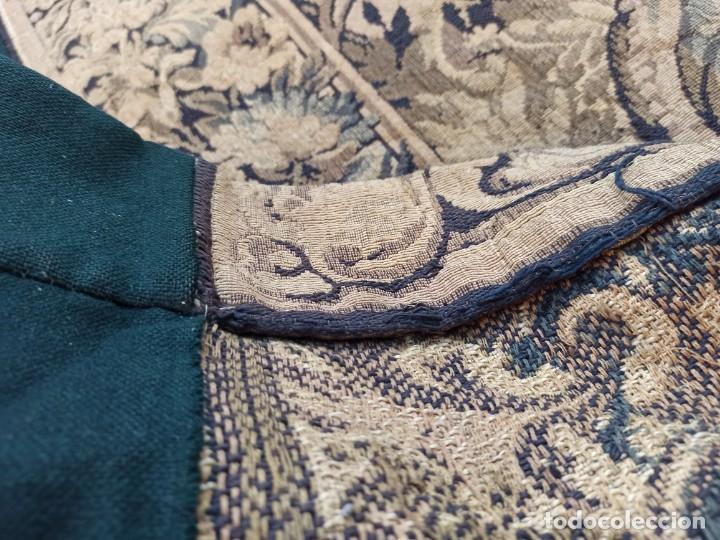 Antigüedades: Preciosa cortina con escena de caza (deteriorada) - Foto 12 - 207867820