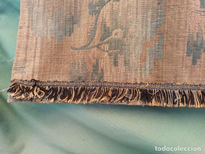 Antigüedades: Cuatro antiguas cortinas verdes - Foto 6 - 207868787