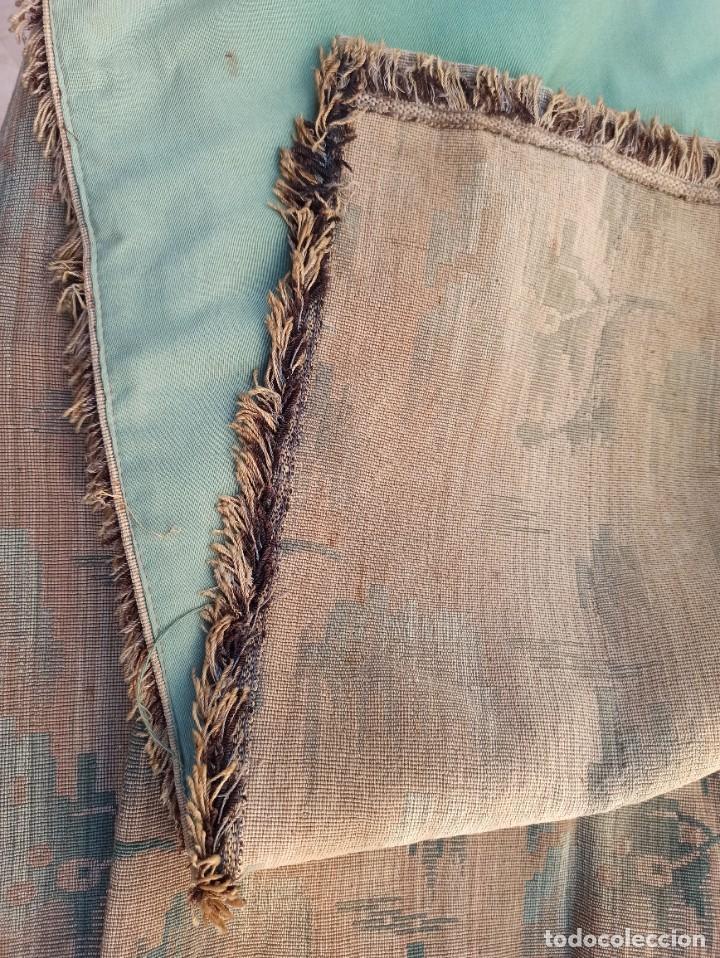 Antigüedades: Cuatro antiguas cortinas verdes - Foto 7 - 207868787