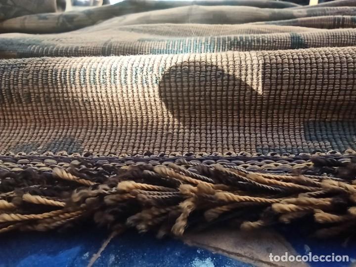 Antigüedades: Cuatro antiguas cortinas verdes - Foto 8 - 207868787